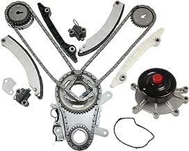 MOCA Timing Chain Kit Water Pump for 2002-2003 Dodge Ram 1500 & Jeep Liberty 3.7L V6 - JETC Cam Gear