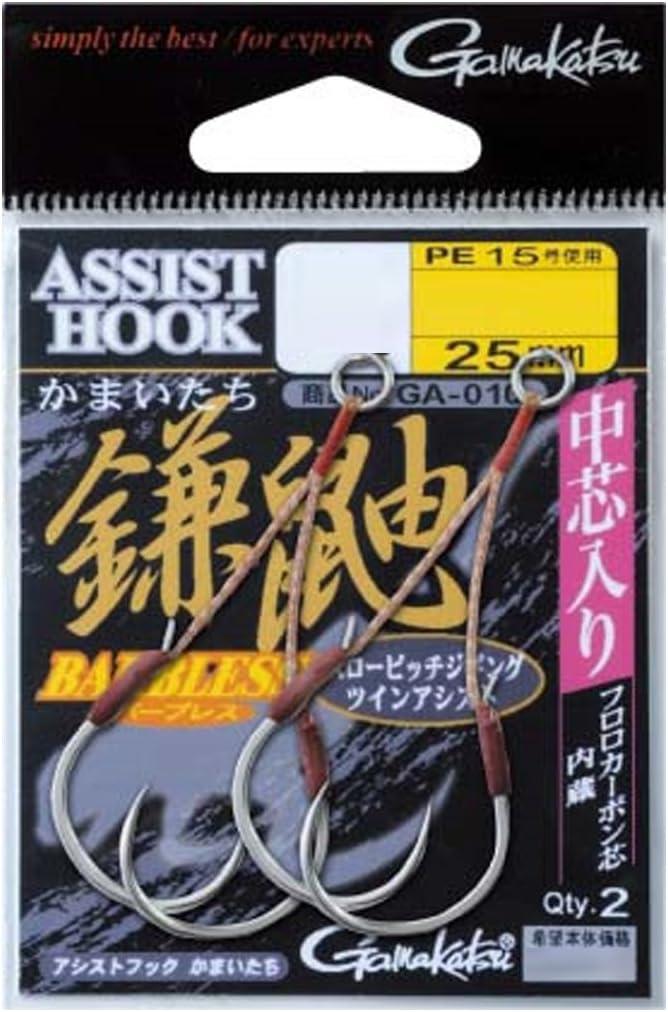 Gamakatsu Rose Assist Hook Kamaitachi Short core お気に入り 好評受付中 in The GA Input