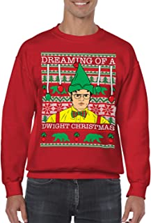 Dreaming of A Dwight Christmas Unisex Crewneck Sweater