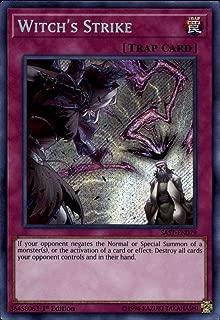 Yu-Gi-Oh! - Witch's Strike - SAST-EN079 - Secret Rare - Unlimited Edition - Savage Strike