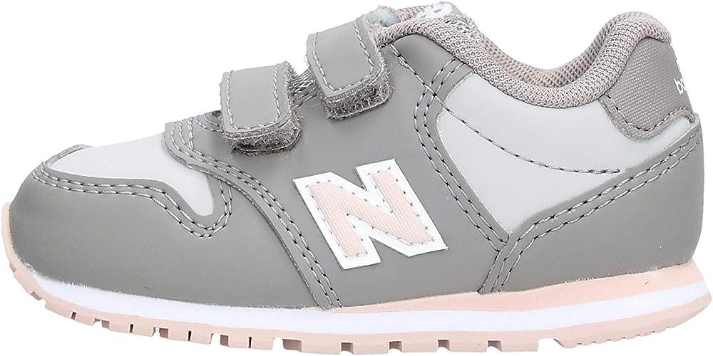 New Balance KV500 PGI Gray Pink Baby Shoes Sneak Sneakers 27.5 ...