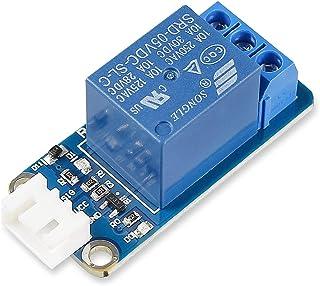 SunFounder - Módulo de relé para Arduino y Raspberry Pi5 V DC Trigger de HIGHLO (alta intensidad)