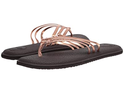 Sanuk Yoga Salty Metallic (Copper) Women