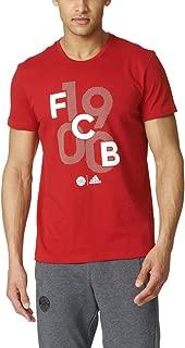 adidas FC Bayern Munchen Mens Goalkeeper Graphic Soccer Tee