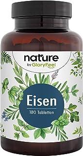 Järn av Högkoncentrat 40 mg + 40 mg Naturligt C Vitamin - Biotillgänglighet - Järnbisglycinat (Järnkelat) + Acerolapulver...