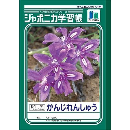 ショウワノート ジャポニカ学習帳 B5判 漢字練習 91字 5冊パック JL-49-1*5