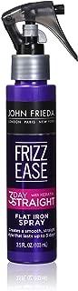 John Frieda Frizz Ease 3-Day Straight Flat Iron Spray, 3.5 Fluid Ounce (Pack of 6)