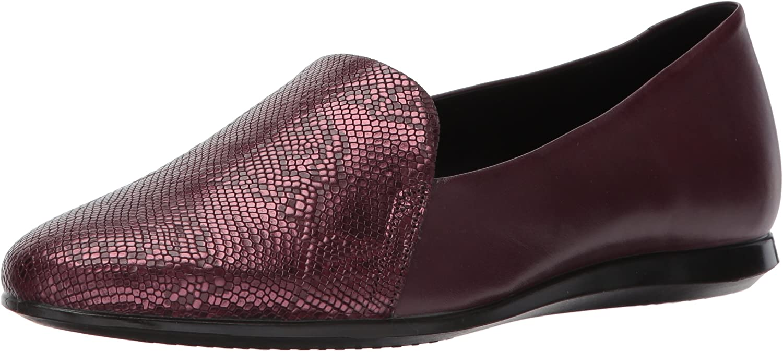 ECCO Footwear Womens Touch Ballerina 2.0 Scale Ballet Flat, Black Black, 35 EU 4-4.5 M US