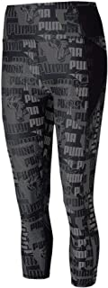 Puma Women's Be Bold AOP 3/4 Tight Leggings, Black