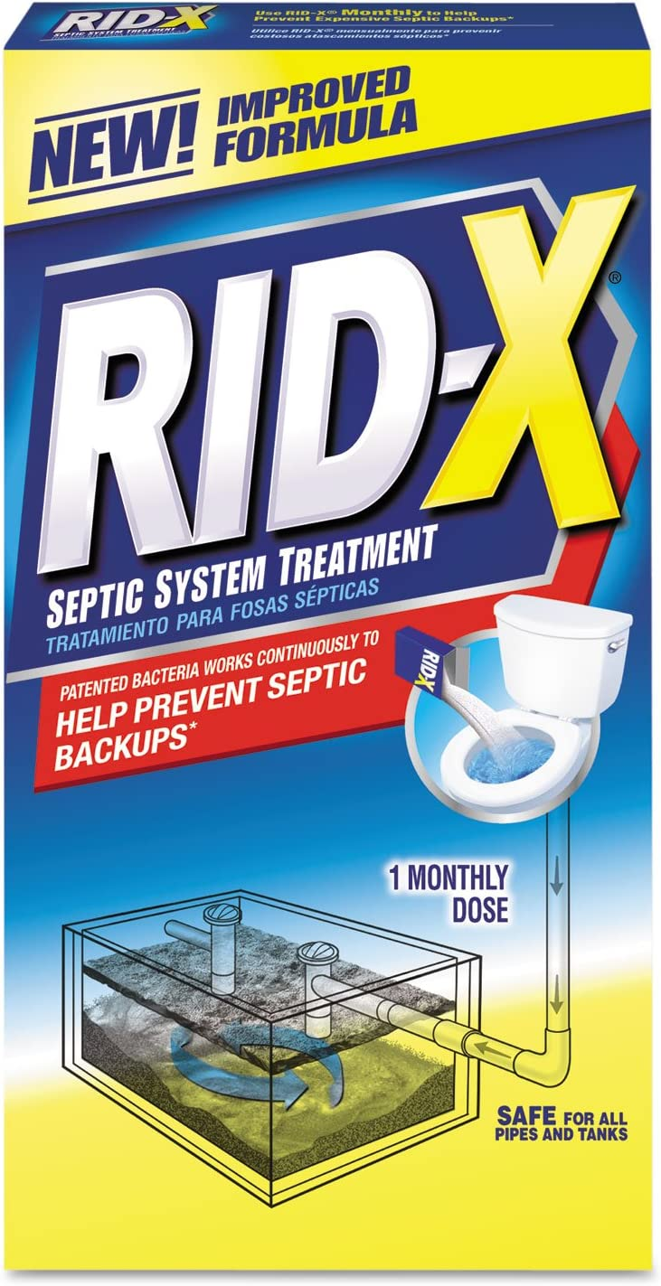 RECKITT BENCKISER Chicago Mall PROFESSIONAL 80306 Fees free System Treatme Rid-X Septic