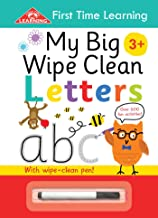 MY BIG WIPE CLEAN LETTERS (First Time Learning Spiral WC)