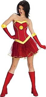 Secret Wishes Marvel Universe Rescue Adult Costume Tutu Dress, As Shown, Large