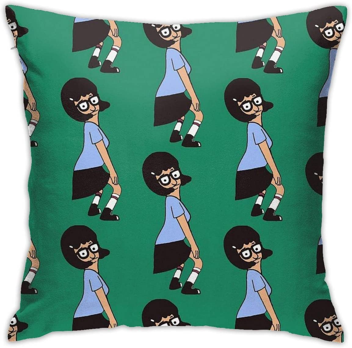 Double-Sided Jay Franco Bobs Burgers I Like Butts 1 Single Reversible Pillowcase Features Tina Belcher Super Soft Bedding Official Bobs Burgers Product