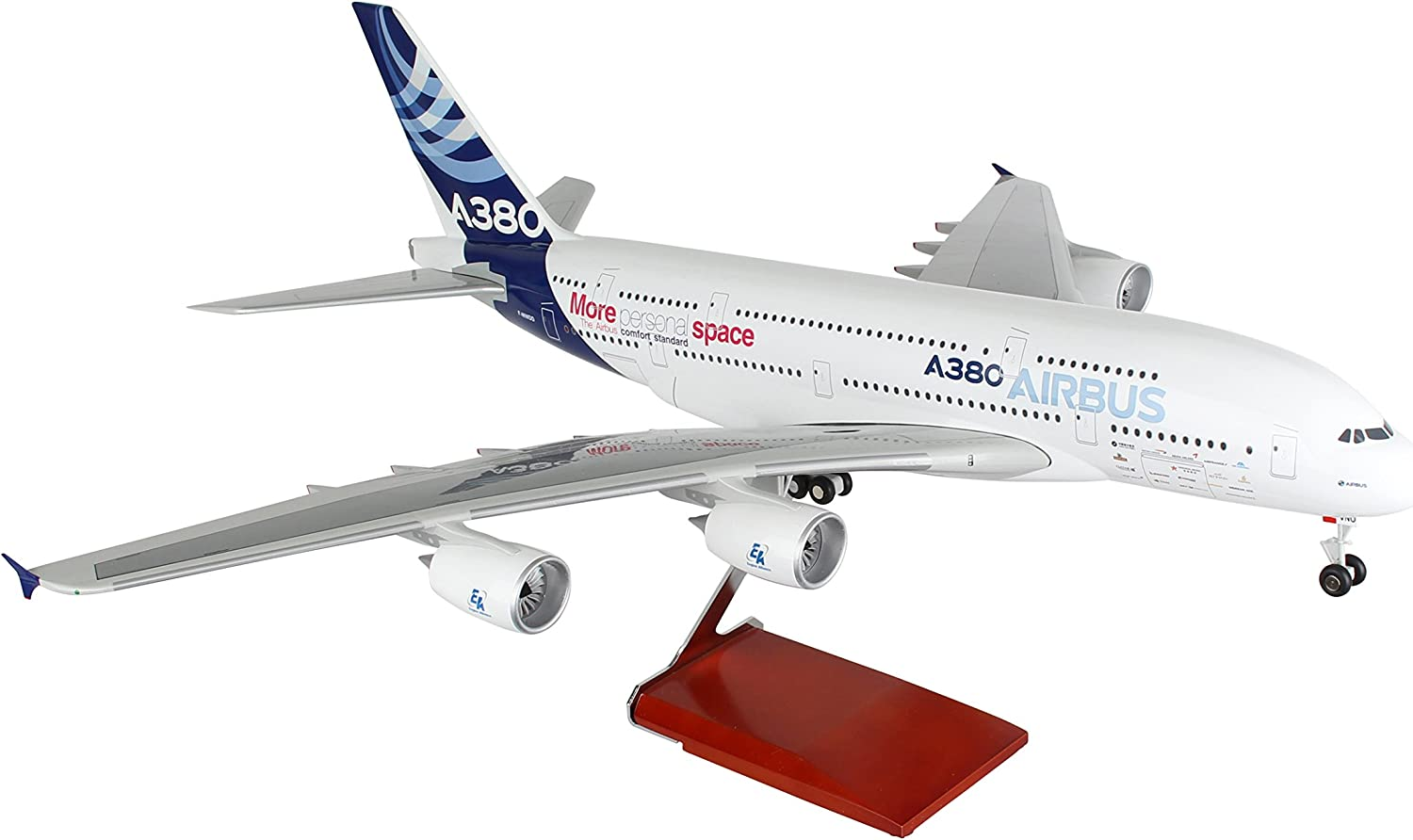 Airbus A380 House Farbe Scale 1 100 w Gear