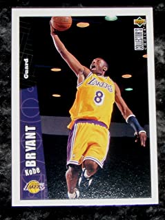 Kobe Bryant 1996-97 UD Collector's Choice NBA Rookie Card #267 (Lakers)