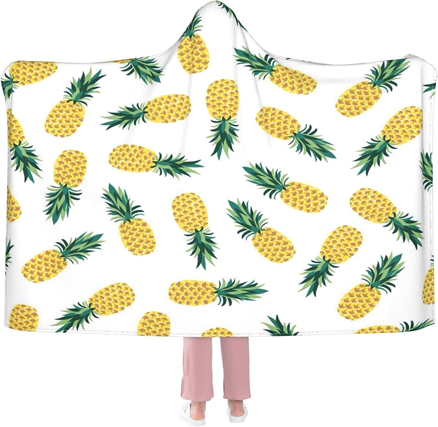 Pineapple Surprise price Wearable Blanket Flannel Soft Direct sale of manufacturer Hooded