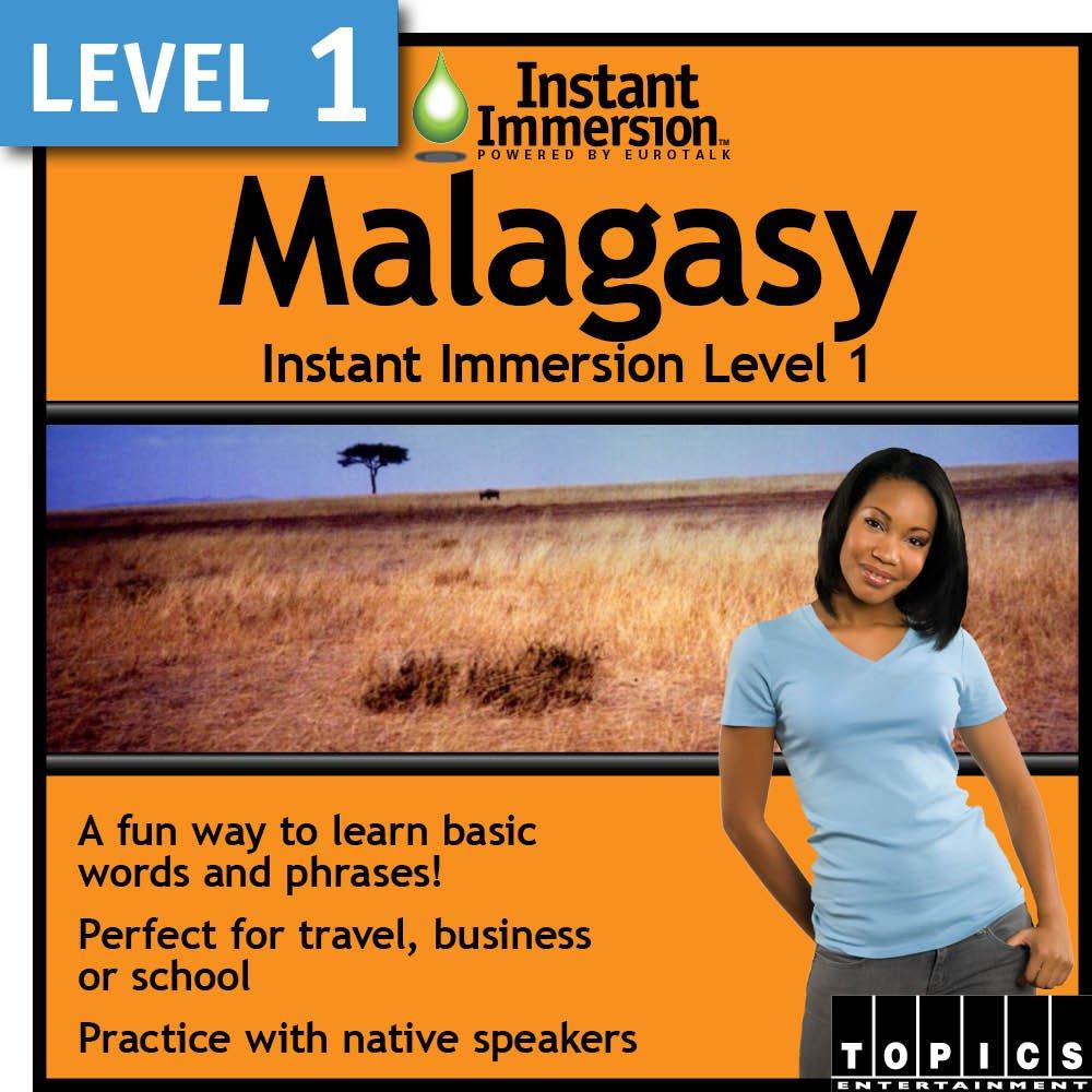 Instant Immersion Level 1 Malagasy Manufacturer Brand Cheap Sale Venue OFFicial shop - Download