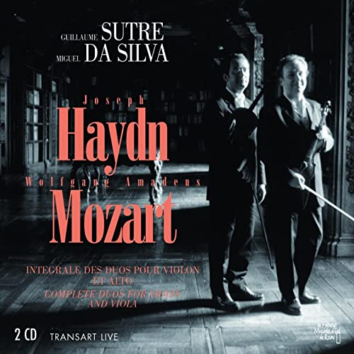 Joseph Haydn, Wolfgang Amadeus Mozart : Intégrale des duos ...