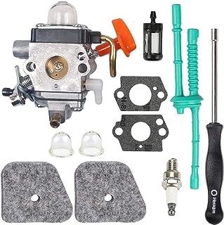 Carkio Junta carburador combustible filtro de aire chispa hexagonal kit de reemplazo para Stihl FS110R FS130R FS100 KM130R FS130 FS90 KM90R KM90 FS100RX FS110 KM110R HT100 HT101