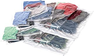 Samsonite Compression Bags 12-Piece Kit (2 Pouch, 4 Carry-on, 4 Large, 2 XL), Clear (Clear) - 51714-1212