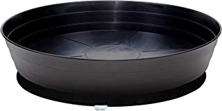 Details about  /3pcs Movable Plant Pot Tray Round Flowerpot Cork Base Drip Tray Garden Balcony