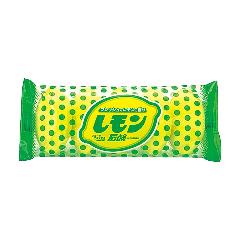子犬繊毛フライカイトニッサン 化粧石鹸 レモン 5個入り