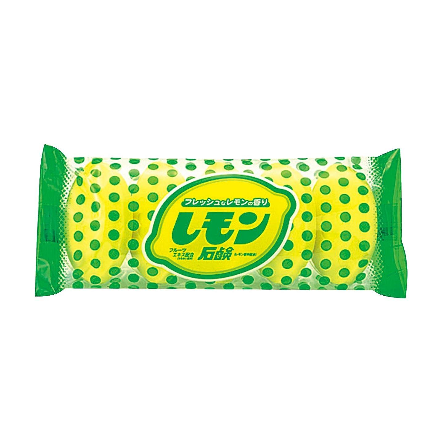 感覚レンド手順ニッサン 化粧石鹸 レモン 5個入り