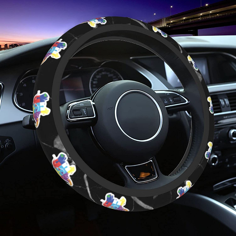 KEATAR Autism Nashville-Davidson Mall Elephant Car free Wheel Covers Protector Steering