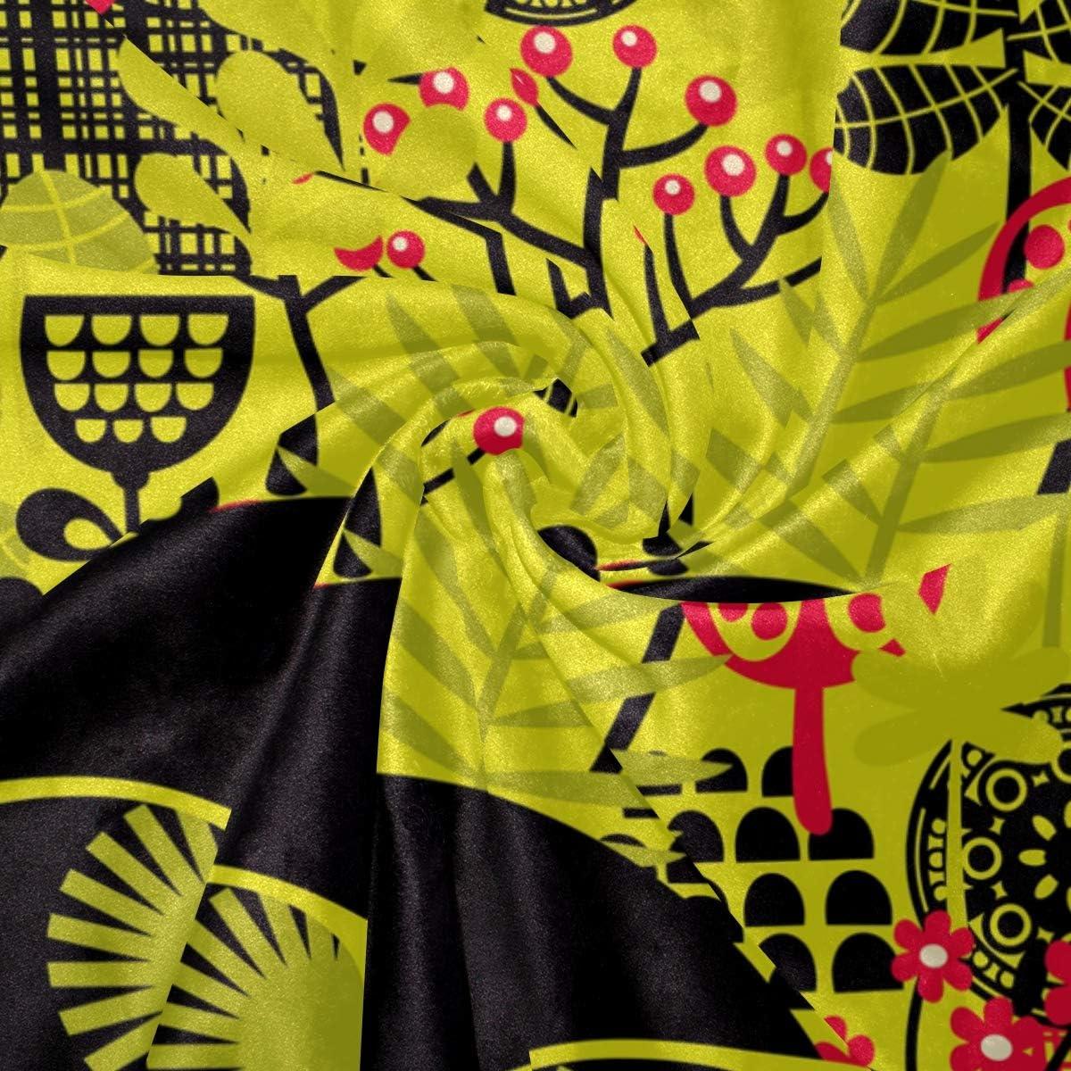 Bennifiry Parure de lit 3 pièces avec Housse de Couette et 2 taies d'oreillers Motif tête Hippie Noir, Multi#003, Taille Unique Multi#002