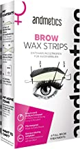 Andmetics Depilatory Strips for Women Eyebrows