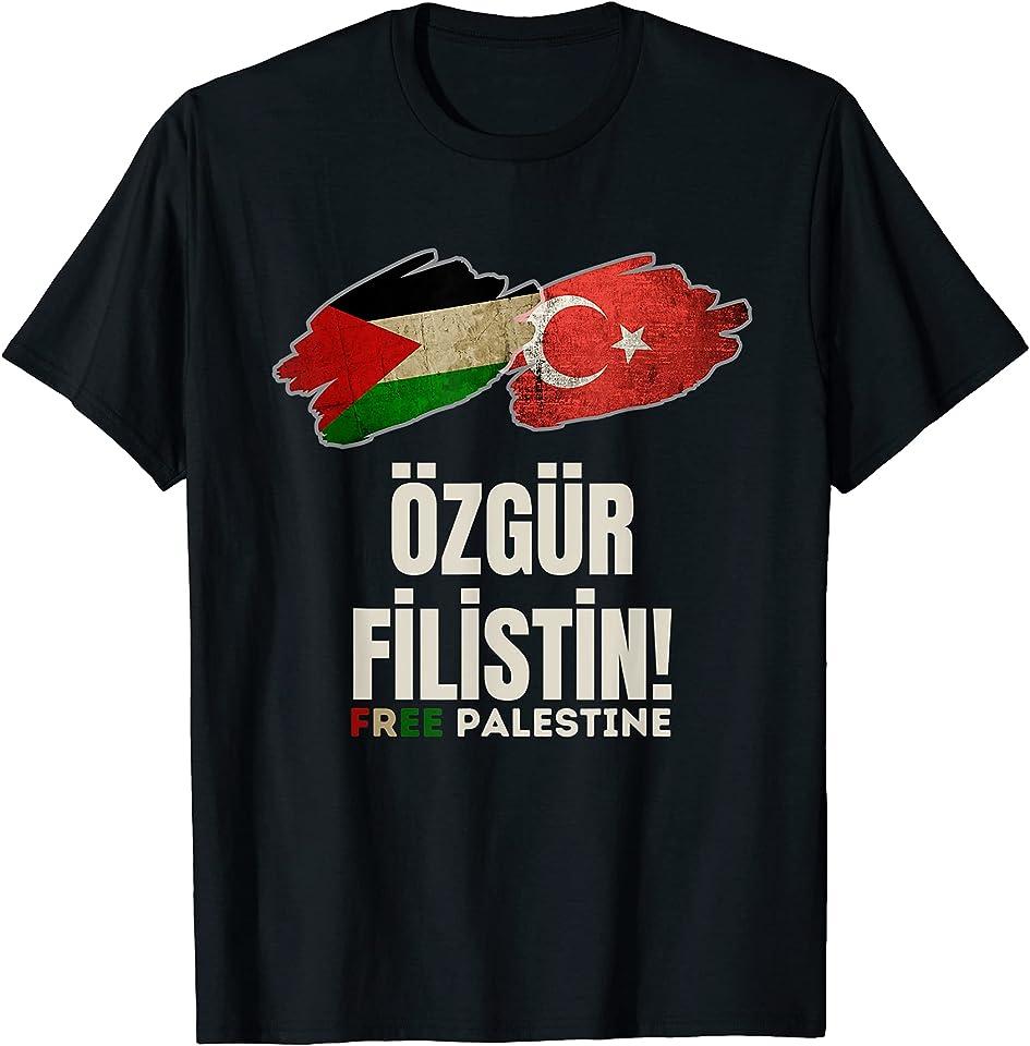 Free Palestine Palästina Freiheit der Palästiner al QUDS T-Shirt