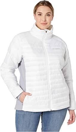 Plus Size Powder Pillow Hybrid Jacket