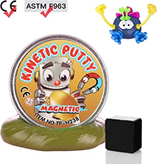 DmHirmg Magnetic Putty Upgrade Accessories Super Soft for Children (Gold)