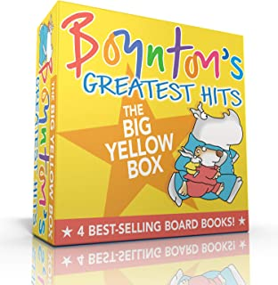 Boynton`s Greatest Hits The Big Yellow Box: The Going-to-Bed Book; Horns to Toes; Opposites; But Not the Hippopotamus