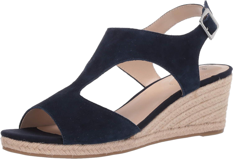 Bandolino Women's Natasha Wedge Sandal Espadrille Attention brand Sale item