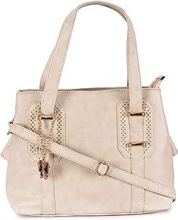 (Butterflies Women Hand Bag (Cream) (BNS 0721CRM)