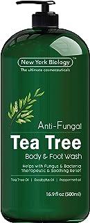 Antifungal Tea Tree Body Wash – HUGE 16 OZ – Helps Nail Fungus, Athletes..
