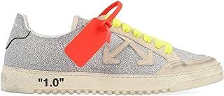 OFF-WHITE Luxury Fashion Womens OWIA177E19F481059101 Silver Sneakers | Fall Winter 19