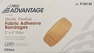 Pro Advantage Band-Aids - Fabric 2x4 - Box of 50