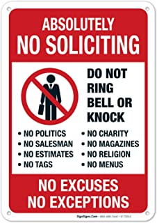 Best no soliciting yard signs Reviews