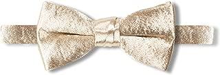 Spring Notion Boys' Satin Crinkle Microfiber Bow Tie