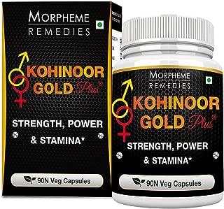 Morpheme Kohinoor Gold Plus 500mg Extract 90 Veg Caps