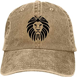 Lion King Baseball Cap Unisex Washed Cotton Denim Hat Adjustable Caps Cowboy Hats