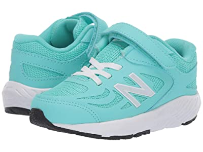 New Balance Kids 519v1 (Infant/Toddler) (Light Tidepool/White) Girls Shoes