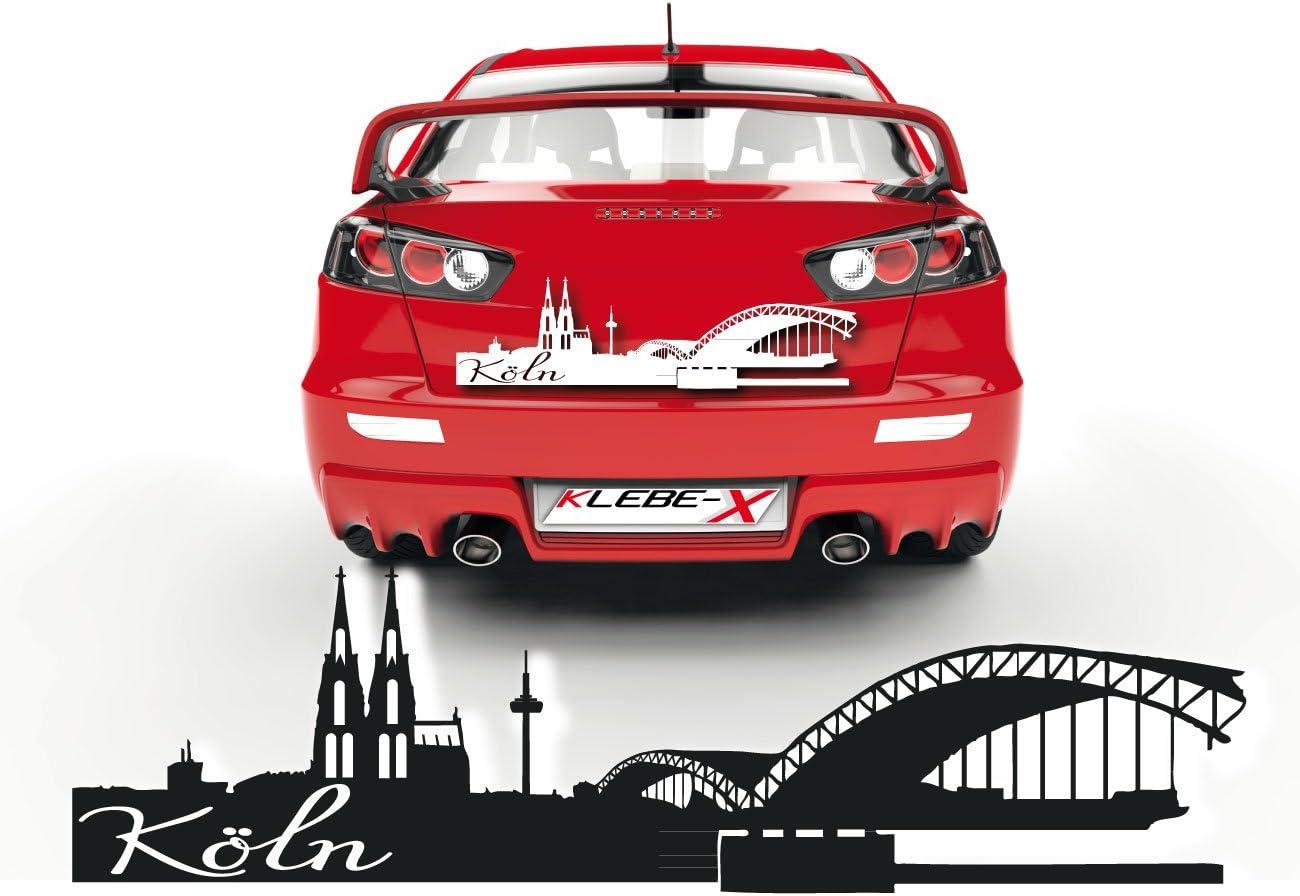 Kölner Dom Aufkleber Für Das Fahrzeug Sticker Aus Folie Zum Verkleben Cartattoo Köln Skd021 Auto