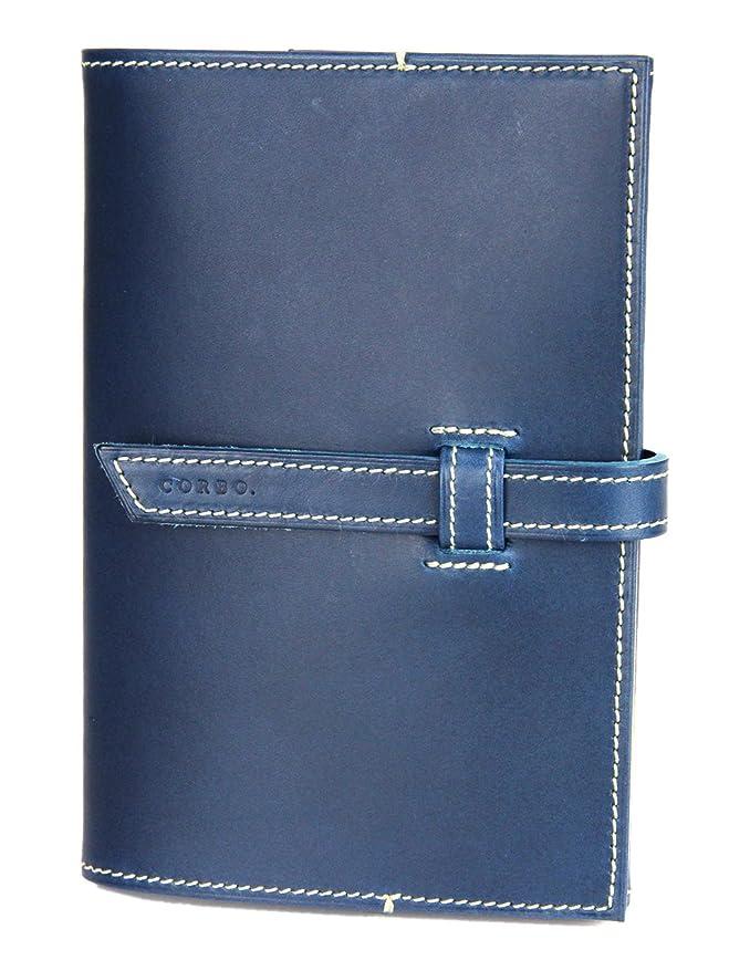 とげのあるアーカイブボトルネック[コルボ] CORBO. ブックカバー 1LI-0901 文庫本サイズ A6 SLOW Stationery スロウシリーズ