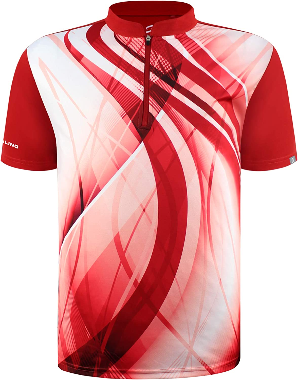 SAVALINO Men's excellence NEW Bowling Sublimation Wick Printed Material Jersey