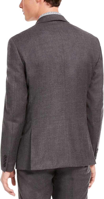 bar III Mens Wool Blend Slim Fit Suit Jacket