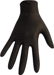 【5個セット】【箱なし発送】ニトリル極薄手袋 S?M?L 選べる4色(100枚入)(L, ブラック)