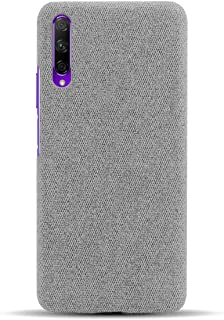 Hicaseer Case for Honor 9X,Fabric PU Hard PC Back Cover,Smartphone Cell Phone Cover in Canvas Shockproof Protection Bumper...